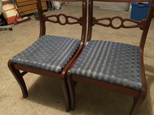 Two wooden chairs for Sale in Sugar Land, TX
