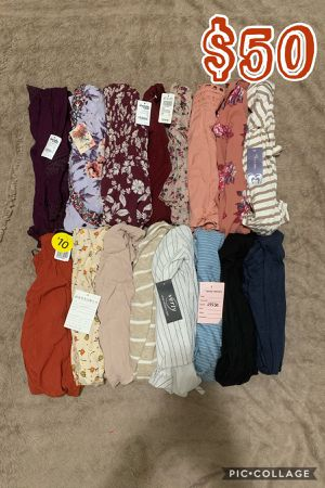 WOMENS JUNIOR CLOTHES BUNDLE🌺NEW🌺SMALL🌺16 PIECES FOR $50 for Sale in Cypress, CA