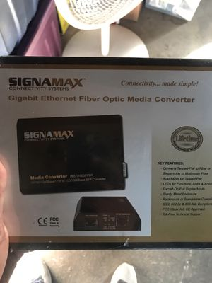 SIGNAMAX CONECTIVITY SISTEMS 065-1196SFPDR for Sale in HILLTOP MALL, CA