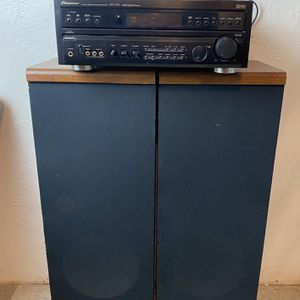 Pioneer Audio Stereo Receiver Model Vsx-v555 And Pair Of Speakers Fisher Systems Model Stv-750 for Sale in Antioch, CA