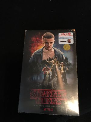 Stranger Things season 1 collector's edition (4-disc blu Ray+dvd set & collectible poster) New in box for Sale in Wichita, KS