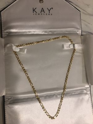 "20"" 10k Gold Figaro Chain TURKEY for Sale in Lewis McChord, WA"