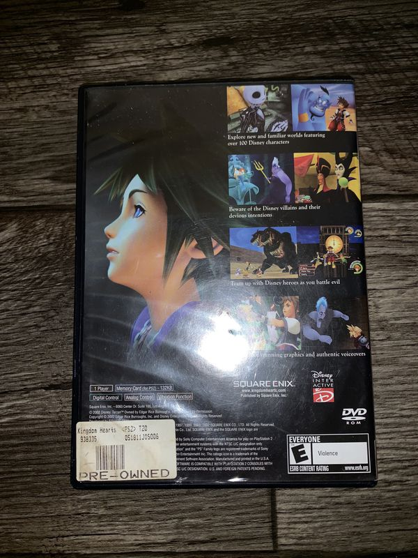 Kingdom Hearts For PS2