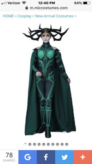 Hela (Thor) costume size Medium for Sale in Cherry Hill, NJ