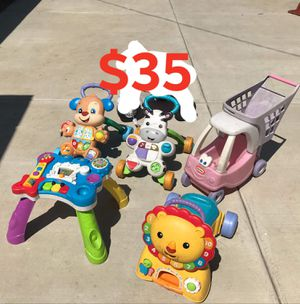 Kids toys walker push car FIRM PRICE NO DELIVERY CASH OR TRADE FOR BABY FORMULA for Sale in Los Angeles, CA