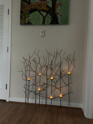 Wall mountable candle holder from crate and barrel for Sale in Rockville, MD