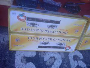 Estufa de 2 qumadores 55 for Sale in Las Vegas, NV