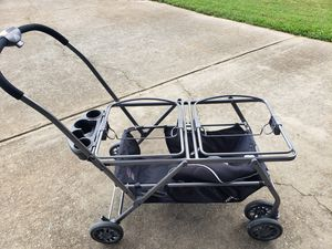 Joovy Twin Roo + Car Seat Stroller Frame for Sale in Alpharetta, GA