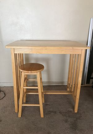 Kitchen island table and stool for Sale in San Diego, CA