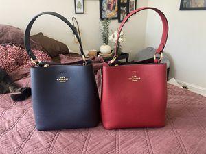 Coach red/black oxblood purse for Sale in Zephyrhills, FL