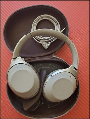 Sony 1000XM2 headphones for Sale in San Jose, CA