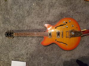 Eastwood semihollow body electric guitar for Sale in Fallbrook, CA