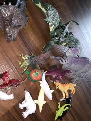 Vintage dinosaurs & animals toys collectibles for Sale in South Gate, CA