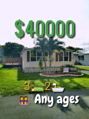 Mobile home or trailer home for sale for Sale in Fort Lauderdale, FL