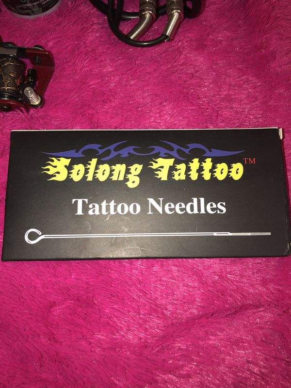 Complete tattoo kit for beginners