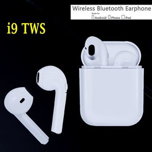 i9s TWS white in-ear wireless headphones headsets new sealed box for Sale in Edmond, OK