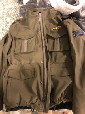 Indian Motorcycle riding jacket large/vest for Sale in Los Angeles, CA