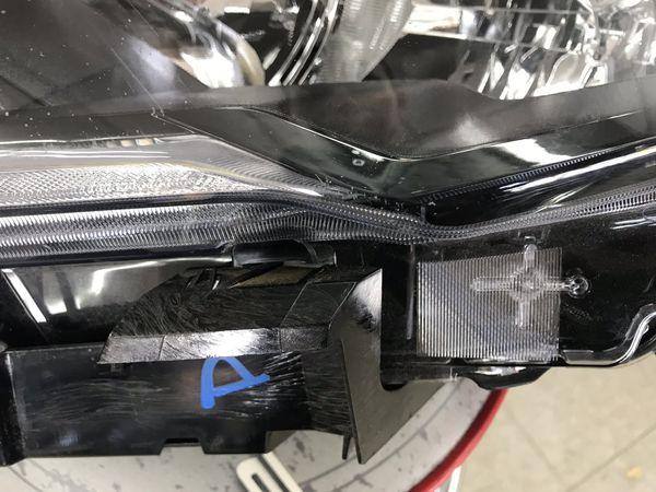 2017 - 2018 Nissan Rogue LH Headlight Halogen