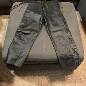 Well Made Adjustable Leather Pants for Sale in Cary, NC