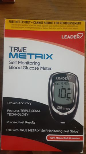 Blood glucose meter for Sale in San Angelo, TX