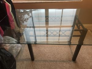 Dining room table. Seats 6-8 people. Beautiful beveled edgeline. for Sale in Tampa, FL