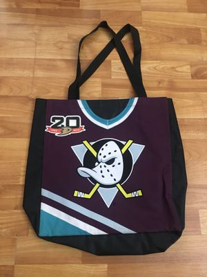 Anaheim Mighty Ducks 2 sided tote bag for Sale in Fullerton, CA