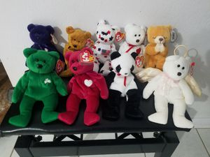 Ty Beanie baby bears for Sale in TEMPLE TERR, FL