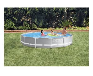 Intex 12ft x 30in Prism Frame Pool Set for Sale in Commack, NY