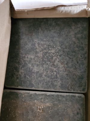 Ceramic Tile (Green) for Sale in Holdenville, OK