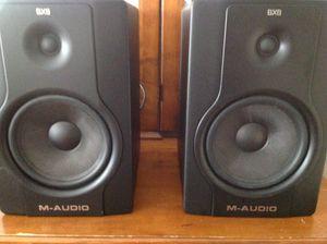 BX8 M-AUDIO speakers for Sale in Ellenwood, GA