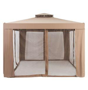 "10"" × 10"" Canopy Garden Patio Gazebo Tent Shelter Outdoor W / Mosquito Netting In the Box for Sale in San Bernardino, CA"