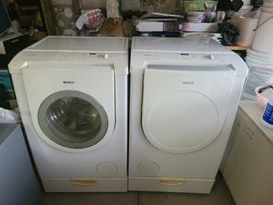 Bosch Washer and Dryer Gas Steam Sensor; Great Wlorking Condition; Come With Pedestal Drawer for Sale in City of Industry, CA