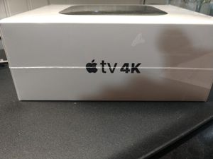 APPLE TV 4K HDR NEW! FACTORY SEALED for Sale in Arlington Heights, IL