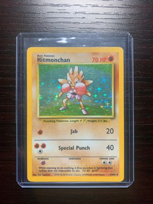 Hitmonchan Holo (Base Set) for Sale in Hawthorne, CA