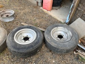 Datsun truck rims and tires for Sale in Molalla, OR