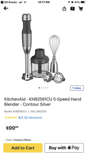 Kitchen Aid 5 speed blender for Sale in Torrance, CA