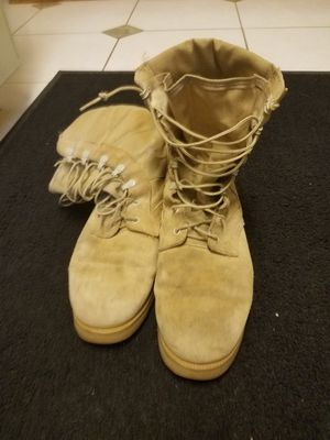 Army Vibram boots for Sale in Valrico, FL
