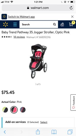 Baby trend jogging stroller for Sale in Vancouver, WA
