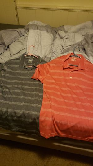 2 Puma Red and Blue Polo Shirts for Sale in Pittsburgh, PA