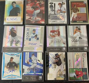 12 Autographed insert Baseball Cards for Sale in Brea, CA