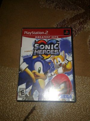 Sonic Heros Ps2 for Sale in Kissimmee, FL