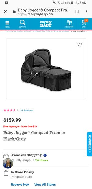 Baby jogger bassinet pram for Sale for sale  Queens, NY