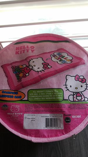 Hello Kitty Camping Sleeping Bag for Sale in Covina, CA