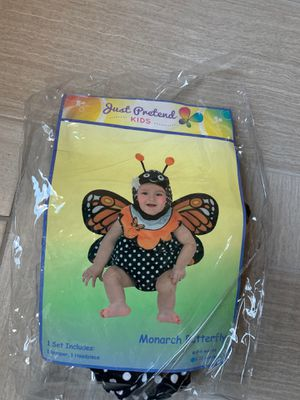 2 piece baby butterfly costume 6-12 months for Sale in Las Vegas, NV