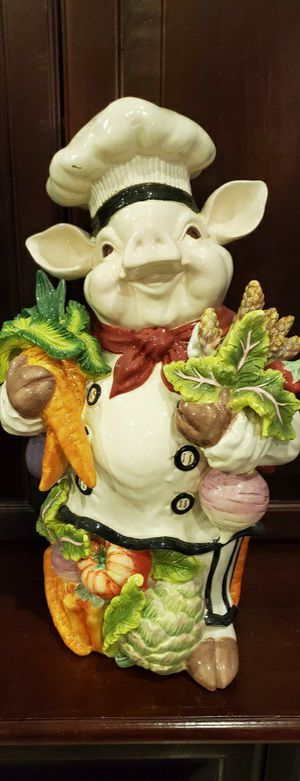 Collectible Kaldun and Bogle Chef Pig for Sale in Davie, FL
