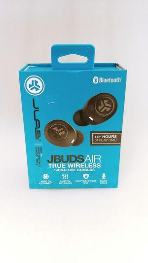 JLab Audio - JBuds Air True Wireless Earbud Headphones - Black for Sale in Henderson, NV