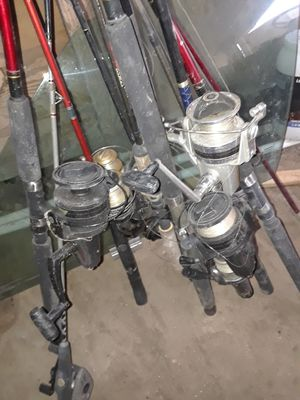 Fishing rods for the whole family for Sale in Morganton, NC