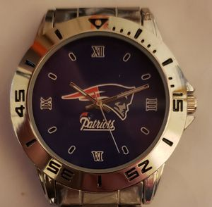 Stainless Steel New England Patriots Watch for Sale in Baltimore, MD