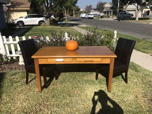 Vintage oak table for Sale in Seal Beach, CA