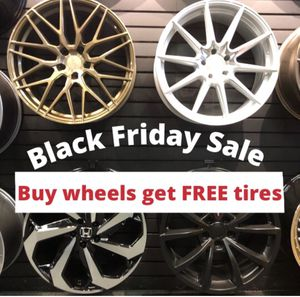 🔥🔥🔥Black Friday SALES! BUY Rims get FREE Tires🔥🔥🔥(only 50 down payment / no credit needed ) for Sale in NJ, US